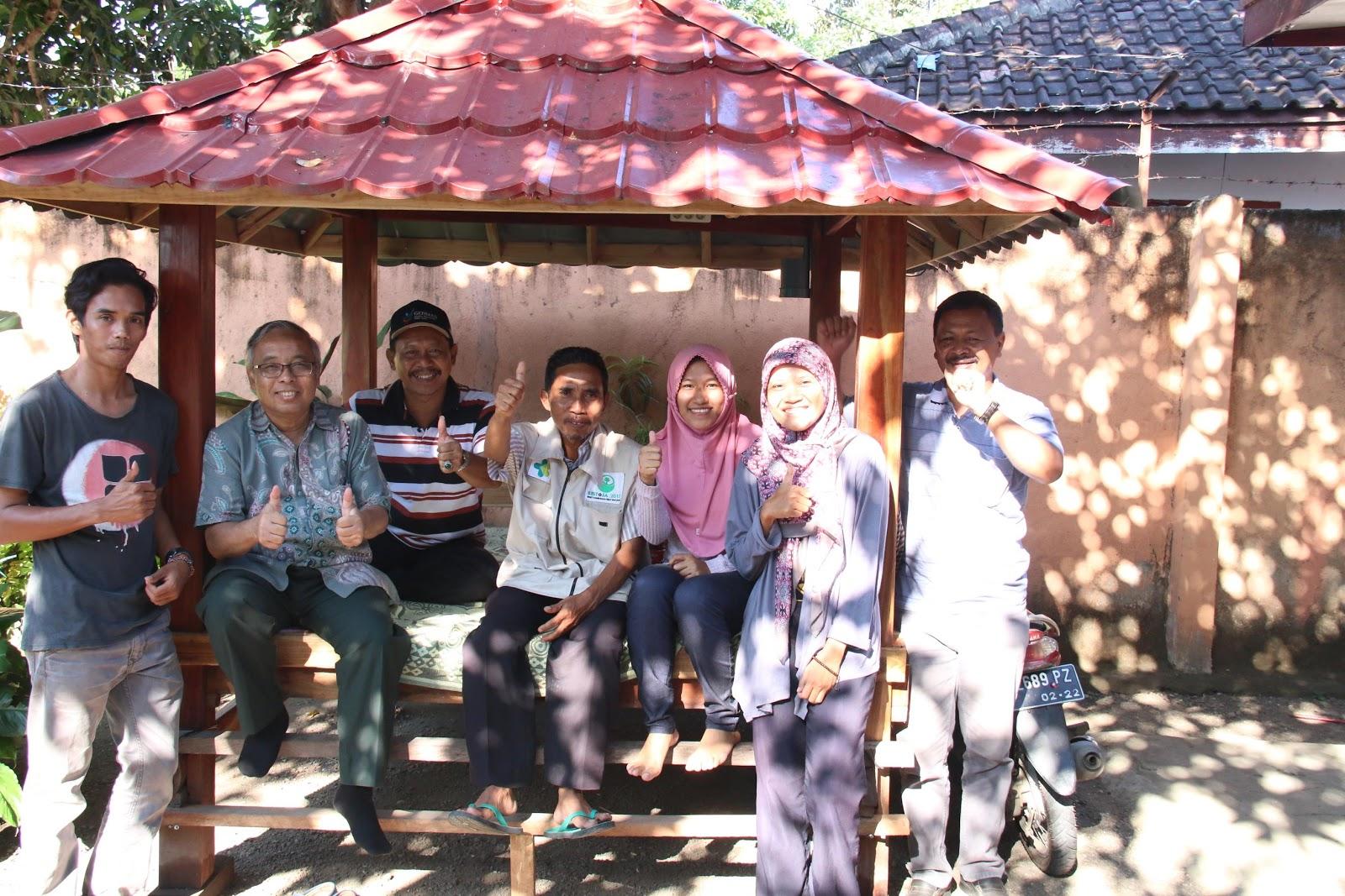 Foto bersama tim Ristoja Kabupaten Dompu