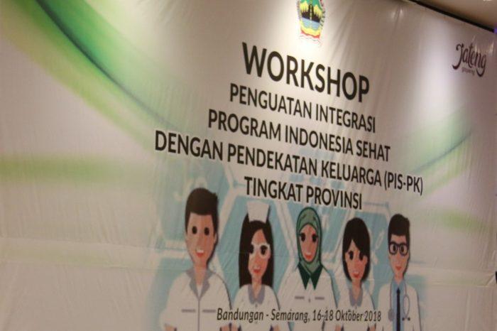 Perkembangan PISPK di Provinsi Jawa Tengah