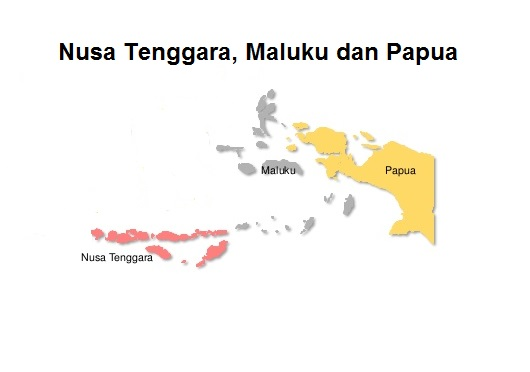 Peringkat kabupaten kota dalam PISPK di Nusa Tenggara, Maluku dan Papua